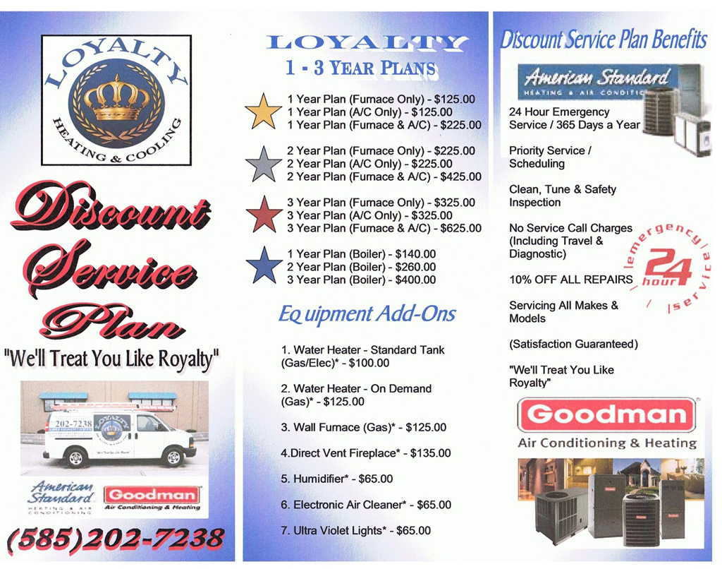 attic cealing ideas - Loyalty Hvac 2011 Service Plan